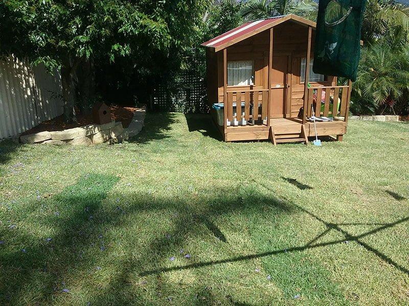 After Garden Makeover backyard