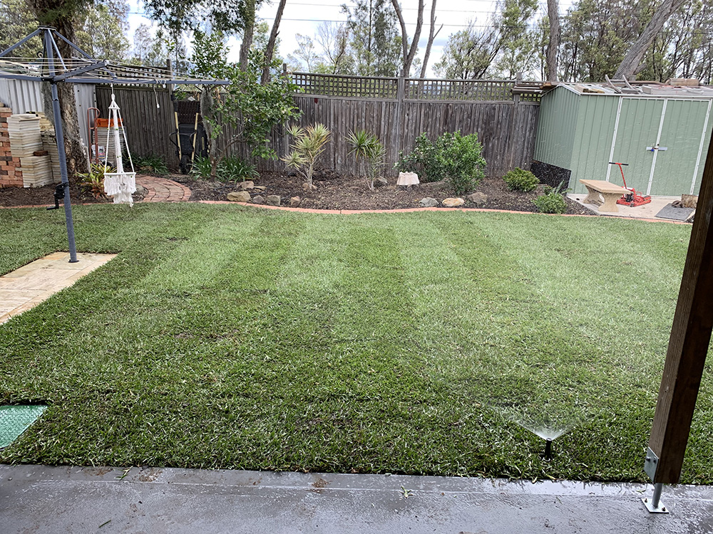 Garden Turfing After Image