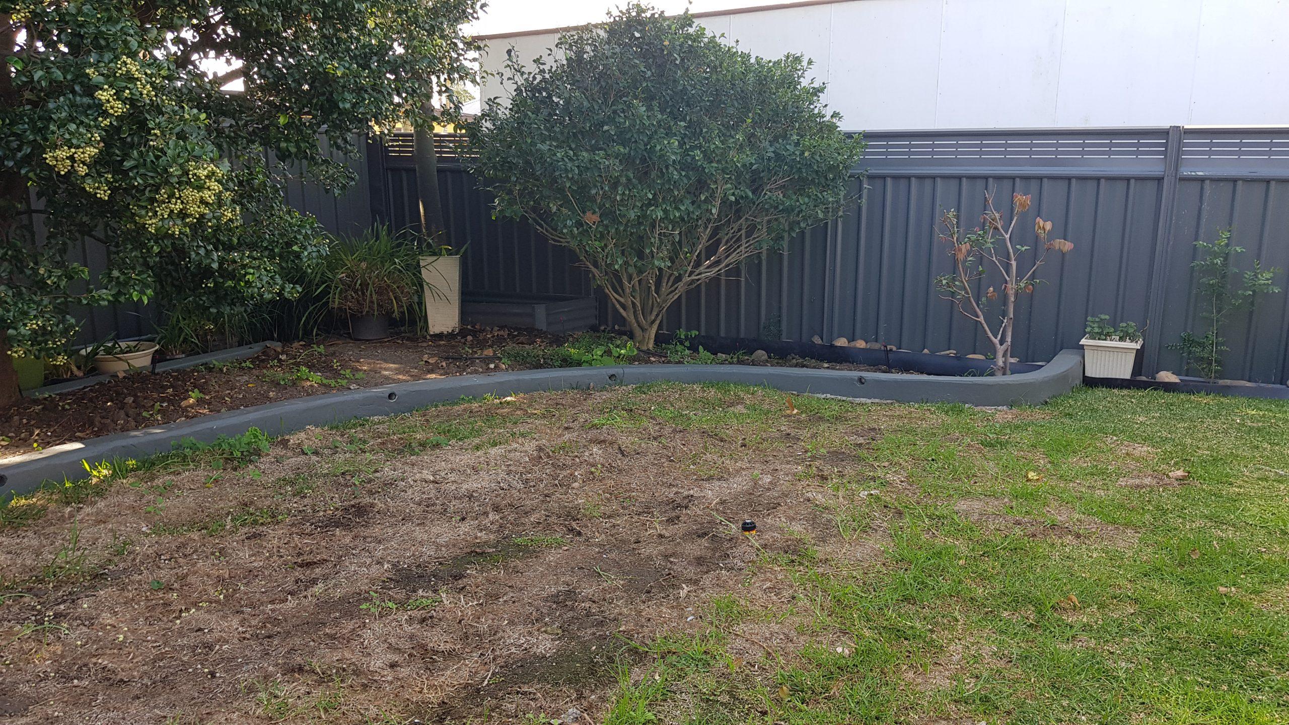 Garden Landscaping Before Image