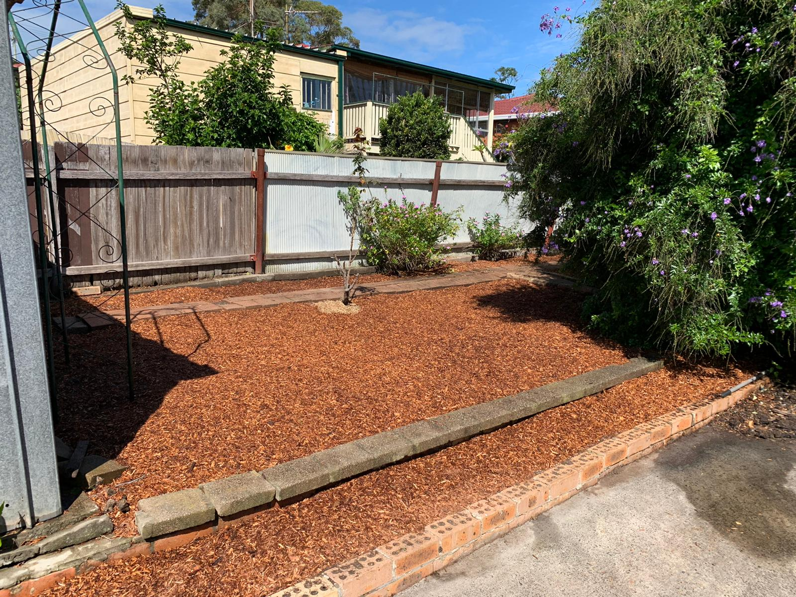 Garden Beautification After Image